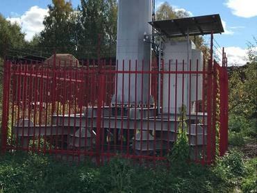 Фундамент под вышку сотовой связи в Нововятске